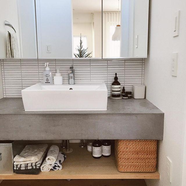 洗面所水周り整理整頓5