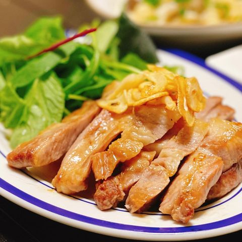 簡単なレシピ!豚肉ロースのソテー