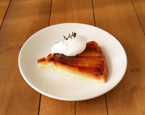 ヘルシーなレシピ!タルトタタン風ケーキ