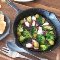 スキレットを使って調理をラクに!簡単バル風おうちごはんを楽しもう