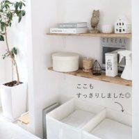 不織布を使った収納がおすすめ。毎日の家事をグッと楽に!