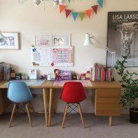 真似したくなる、可愛い子供部屋のレイアウト。おしゃれに部屋をデザインしよう