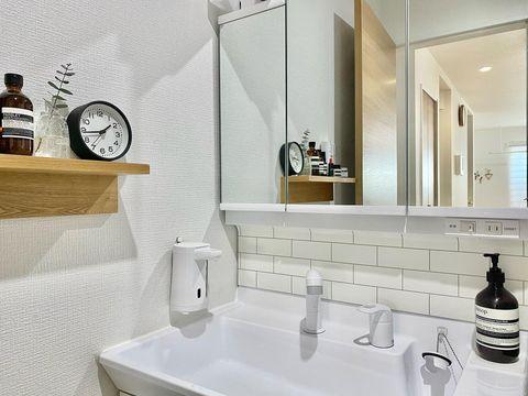 洗面所水周り整理整頓2