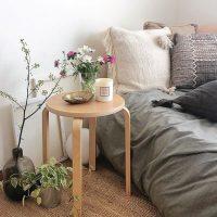 布団でおしゃれな部屋を作るインテリア実例。洋室〜和室までおすすめの人気な空間作り