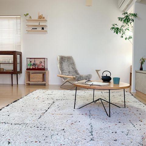 リビングを広く見せるレイアウト術:家具2
