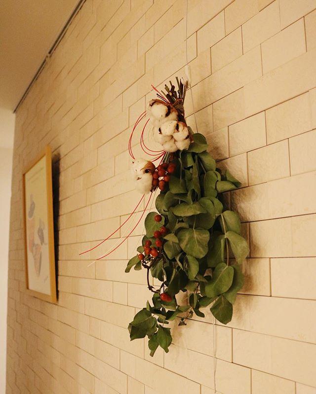 ユーカリの飾り方 玄関3