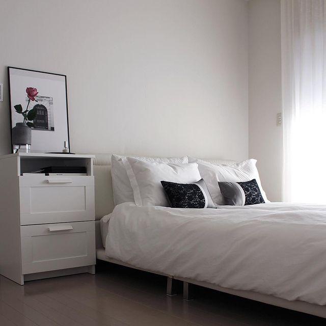 一人暮らしの寝室インテリア14