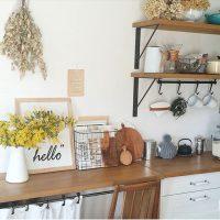 白×茶色で統一感のあるおしゃれなお部屋作りを。ナチュラルインテリア実例集