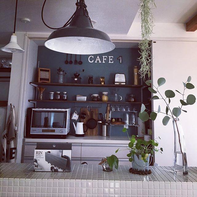 カフェ風に最適な電気ケトルの置き場所