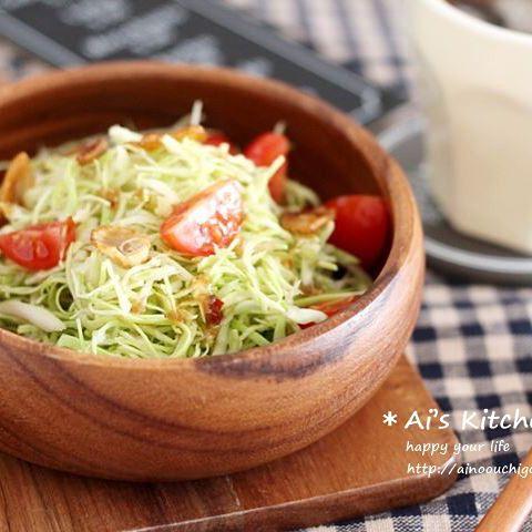 副菜におすすめ☆簡単で定番人気のサラダ