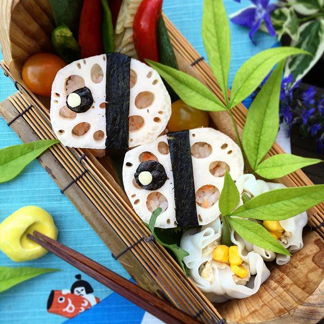 鯉のぼり手毬寿司