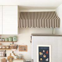 冷蔵庫の上のスペースを上手に活用しよう。おしゃれ収納を作るアイデアをご紹介