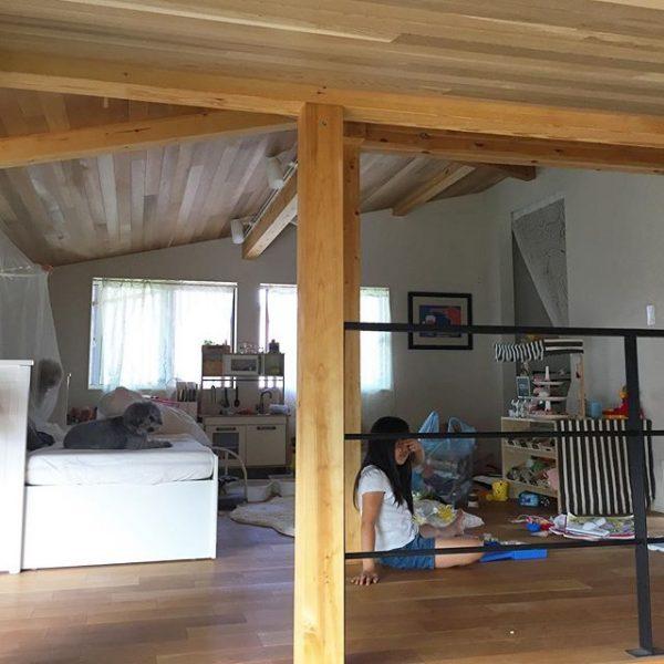 子供の寝室としてのロフトの使い方