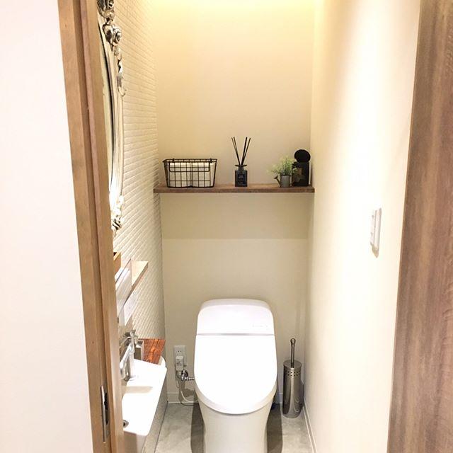 モデルハウスのようなトイレ