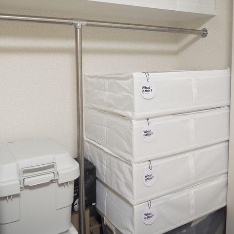 IKEAの便利アイテムを使った布団収納