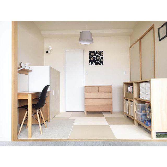 和室の子供部屋
