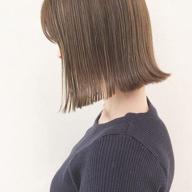 イルミナカラーを使った明るめ髪色9