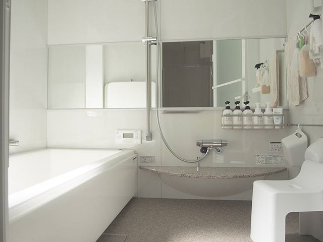 お風呂場②浴室内の床