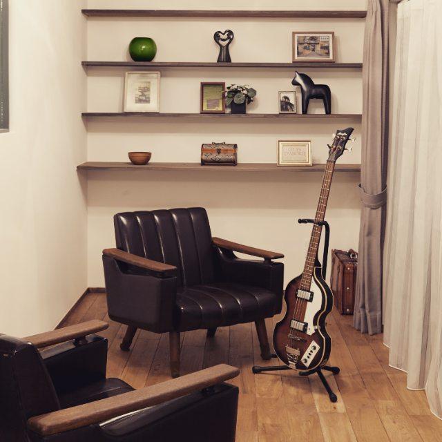 一人掛けソファを使った癒しのお部屋