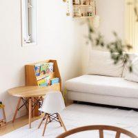 アパートのリビングを家族みんな快適に。子供のいる家庭で実践したいインテリア集