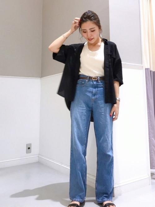 [LEPSIM] アサレーヨンシャツ 843838