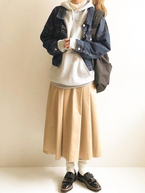 [ALU STANDARD] carhartt カーハート Workwear Hooded Sweatshirt ビッグシルエット プルオーバーパーカー