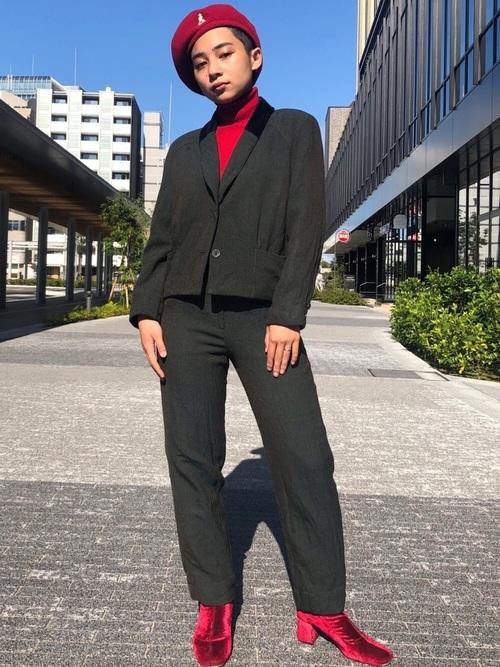 [OVERRIDE] 【KANGOL】Wool Jax Beret