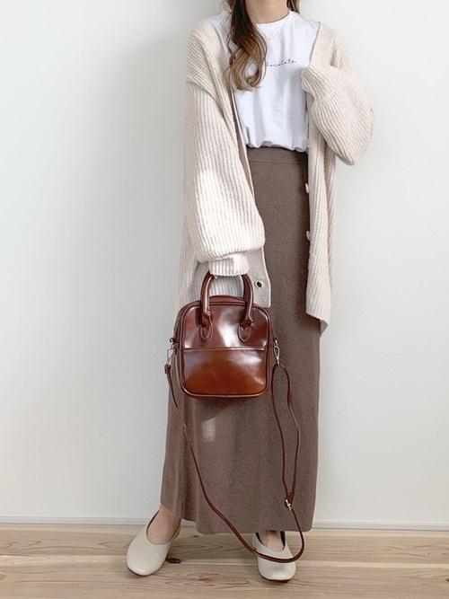 [LOWRYS FARM] 12Gメランジタイトスカート 918278