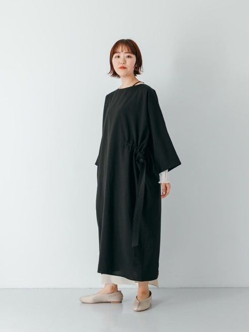 [SENSE OF PLACE by URBAN RESEARCH] 【WEB/一部店舗限定】Uiscel 10 months ドライマキシワンピース