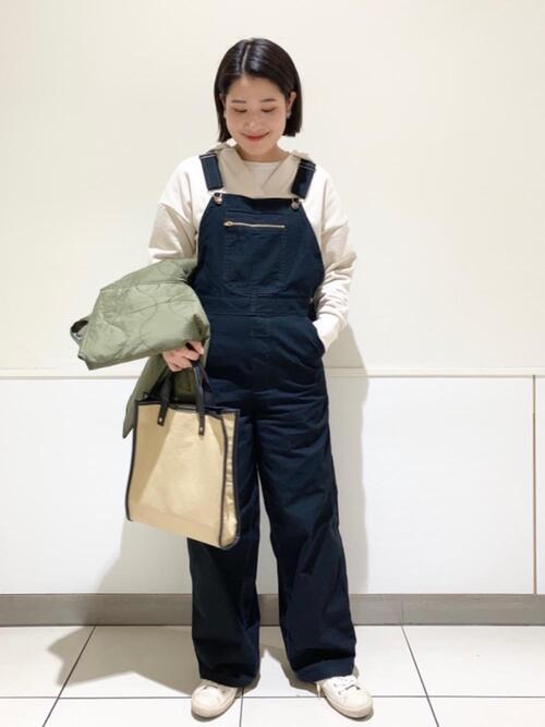[coen] 【軽量】パイピングコンビスクエアトートバッグ