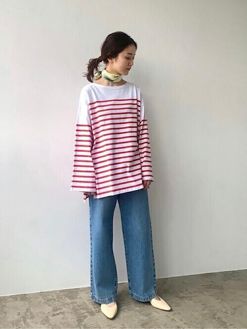 [IENA] 【MANIPURI/マニプリ】SILK スカーフ 88*88