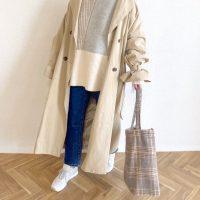 大人女性がこの春マネしたいトートバッグコーデ。2021年のおしゃれファッション集