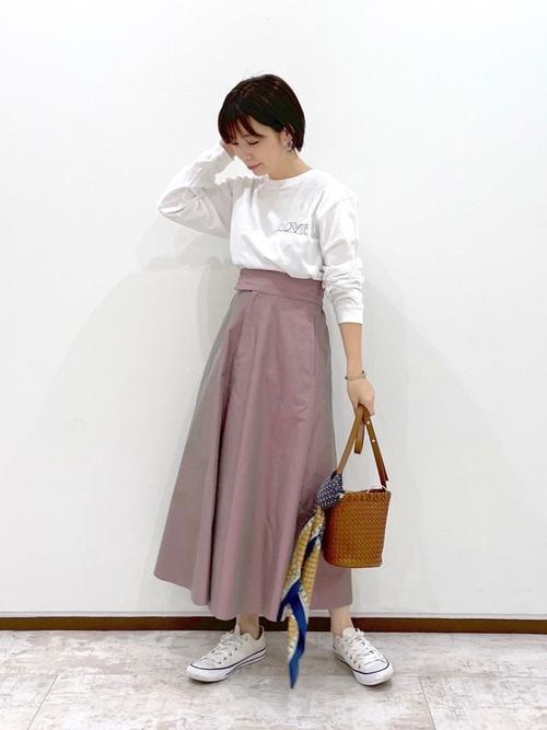 [Andemiu] コモンガラパネルスカーフ935873