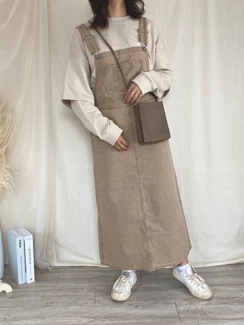 GUサロペットスカート