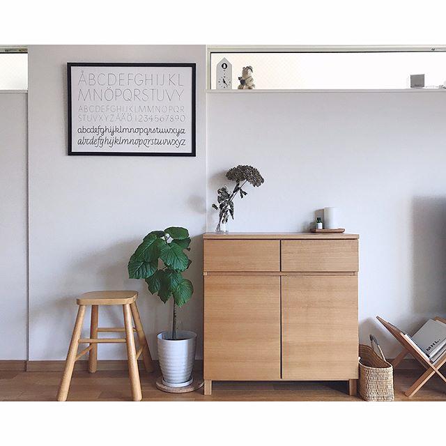出窓のおしゃれな活用実例《シンプル》