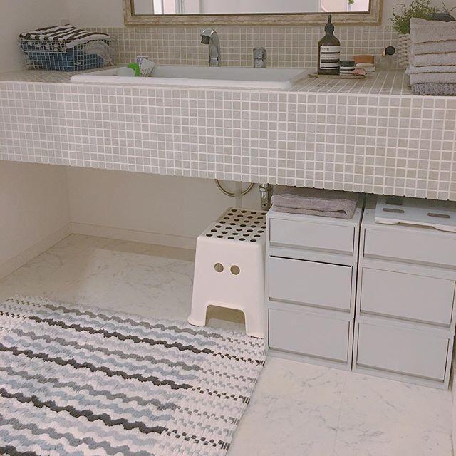 洗面所④洗面所の床