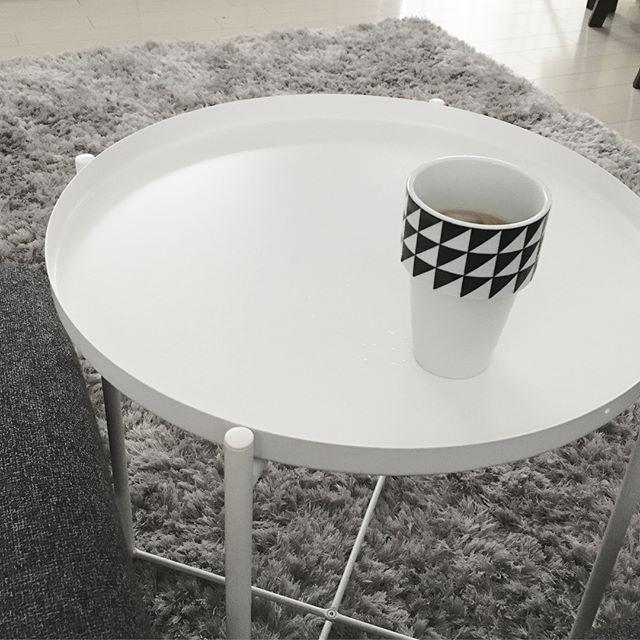 IKEAラウンドテーブル