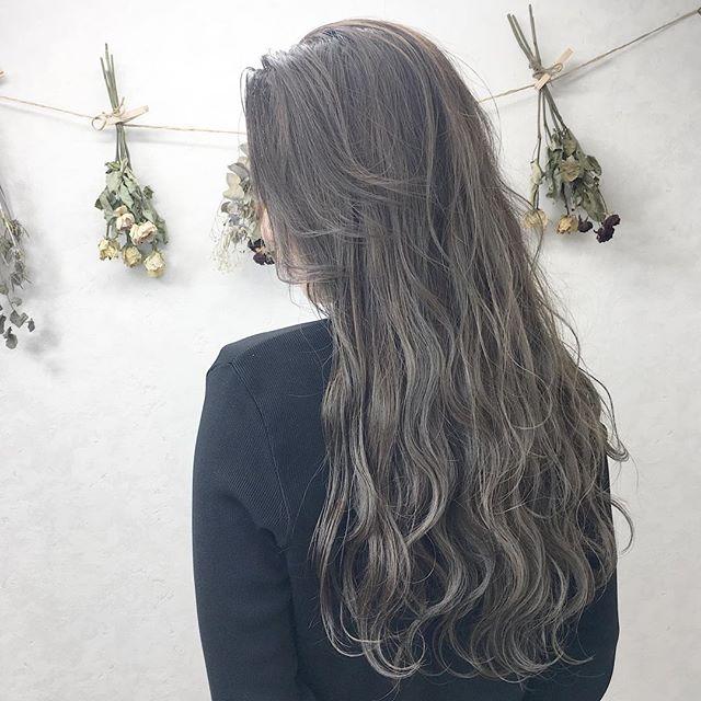 イルミナカラーを使った明るめ髪色11