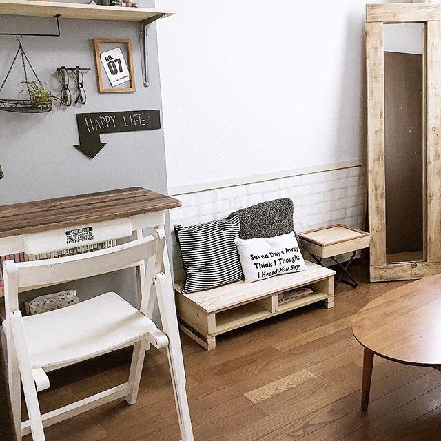DIYでつくられた子供部屋