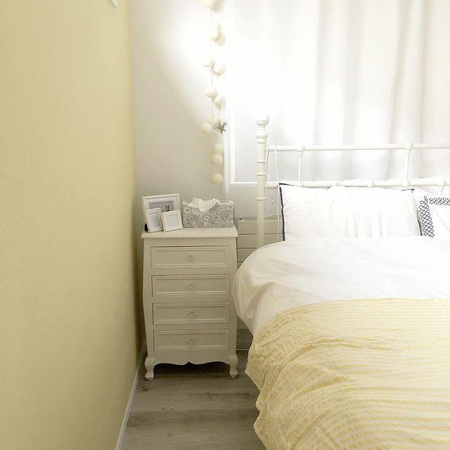 一人暮らしの寝室インテリア15