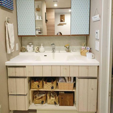 洗面所水周り整理整頓6
