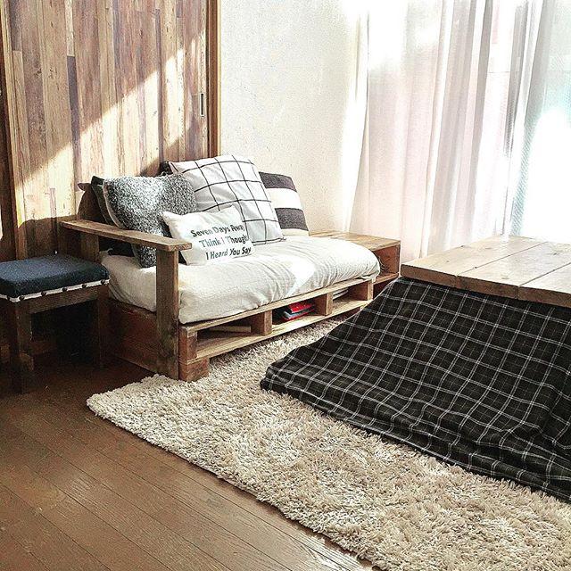 一人掛けソファのレイアウト15