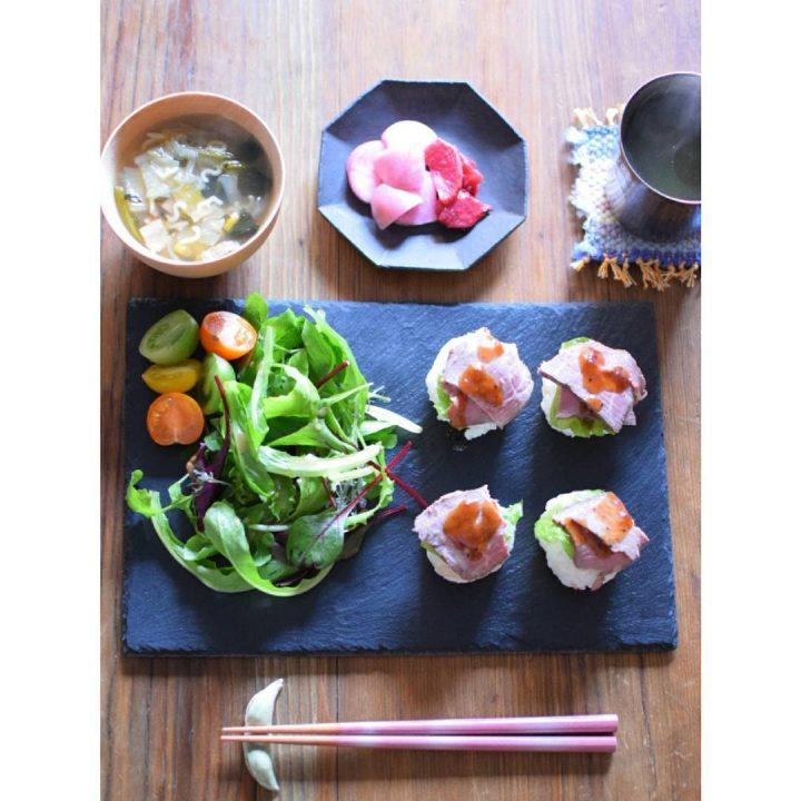 残り物で♪ローストビーフの手まり寿司レシピ