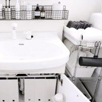 洗面所下は100均でスッキリ片付く!手軽にできて便利な収納アイデア15選