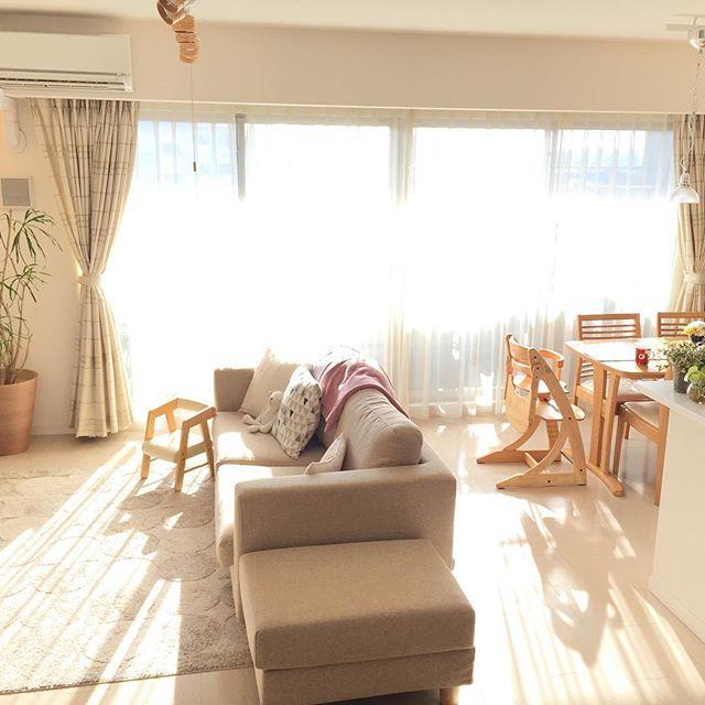 優しい日差しが包み込むお部屋