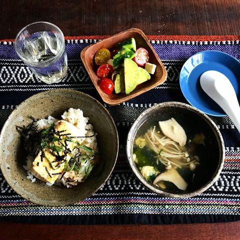 超簡単な100円節約レシピの豆腐丼