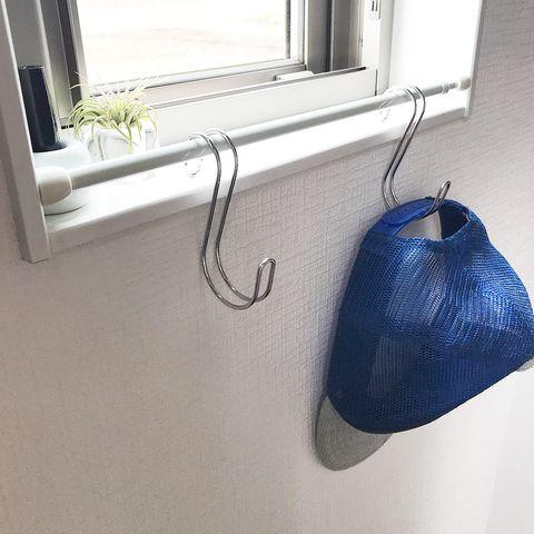 突っ張り棒を活用したトイレ収納14