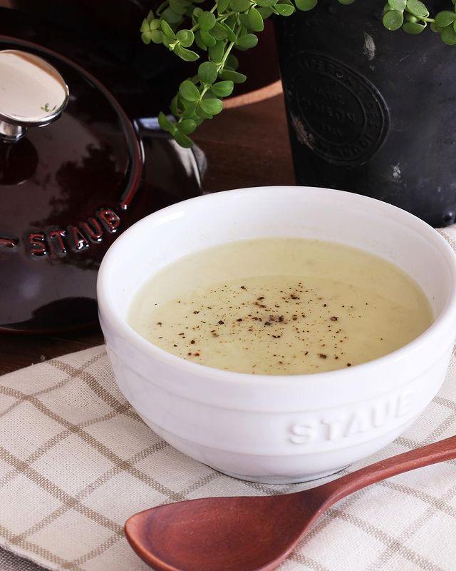 ピーマン嫌いも驚く簡単ポタージュスープ