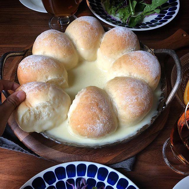チーズフォンデュパン