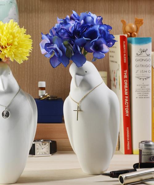 [SiNCERE] 〈Kata Koto/カタコト〉 Parrot Vase/オウムの花瓶